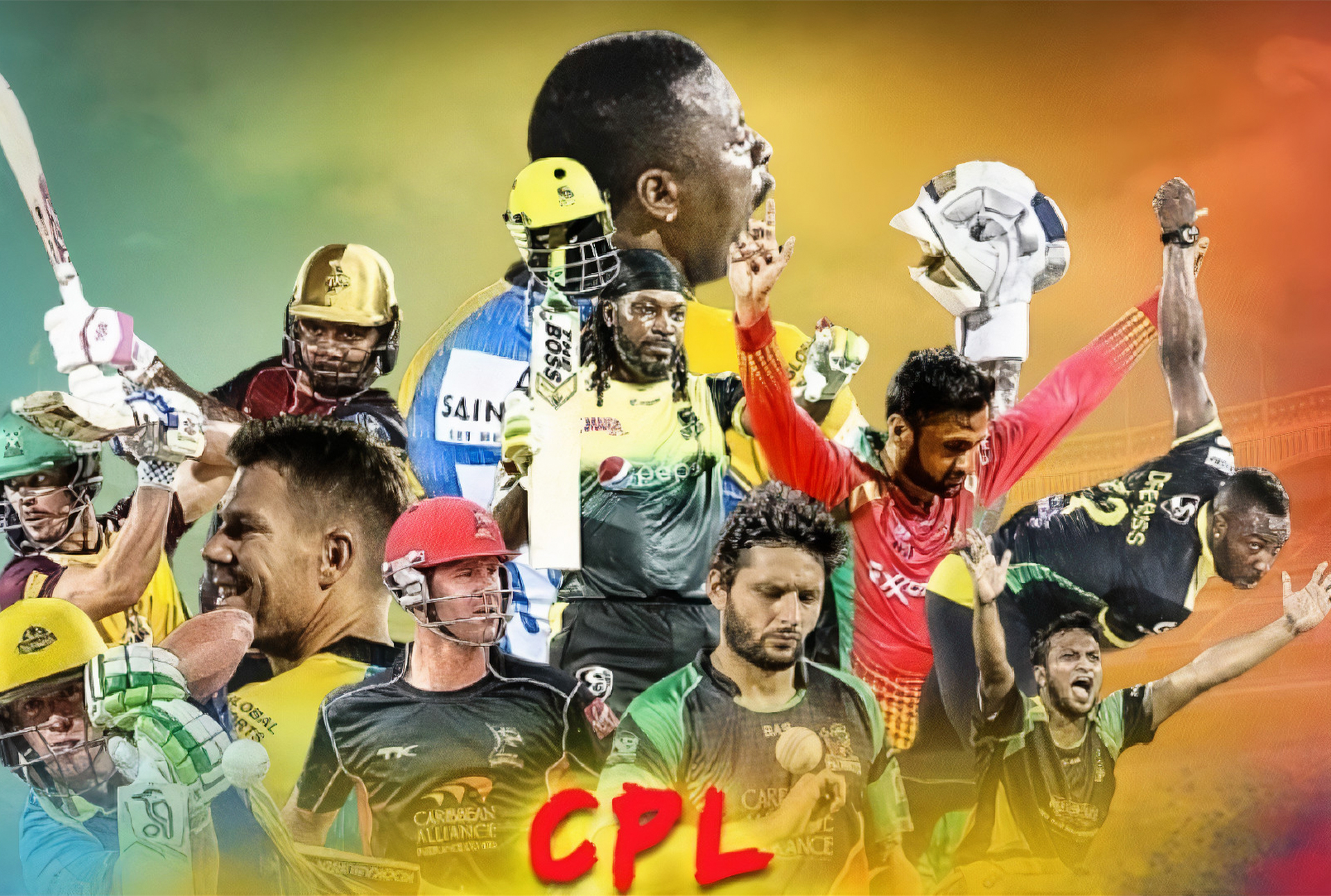 You can place bets on Caribbean Premier League (CPL) after registering on the site