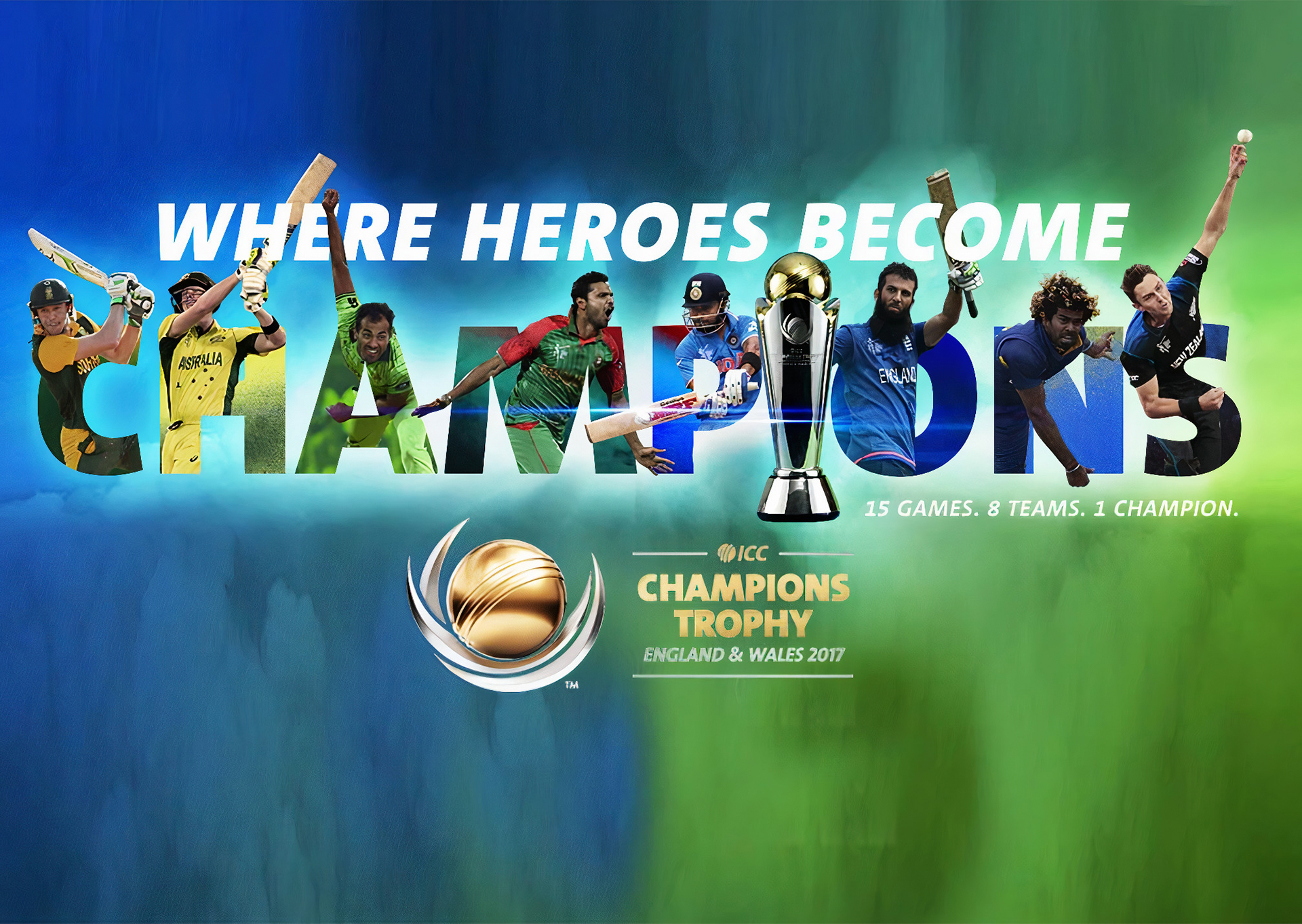 You can place bets on ICC Champions Trophy after registering on the site