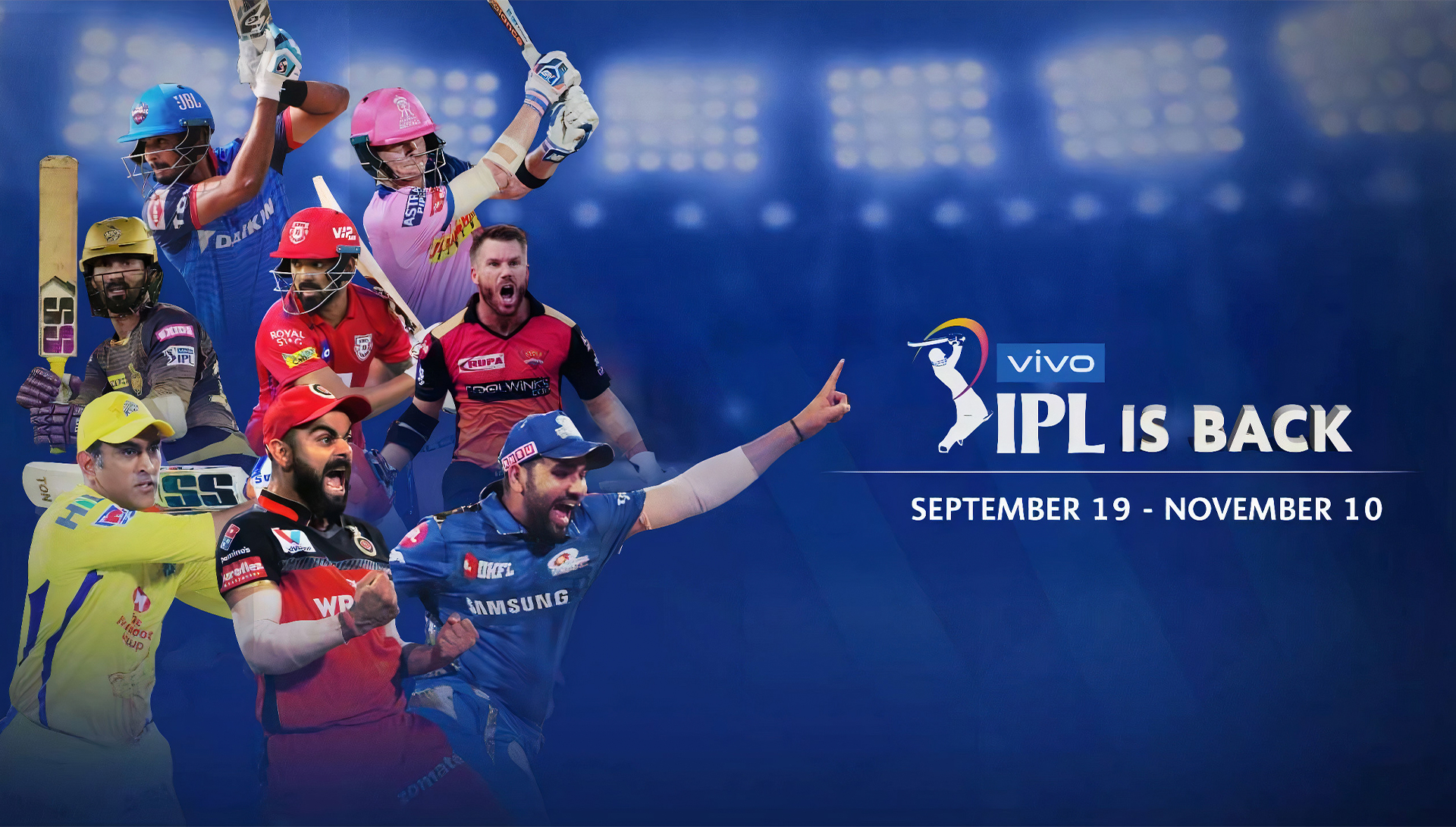 You can place bets on IPL after registering on the site