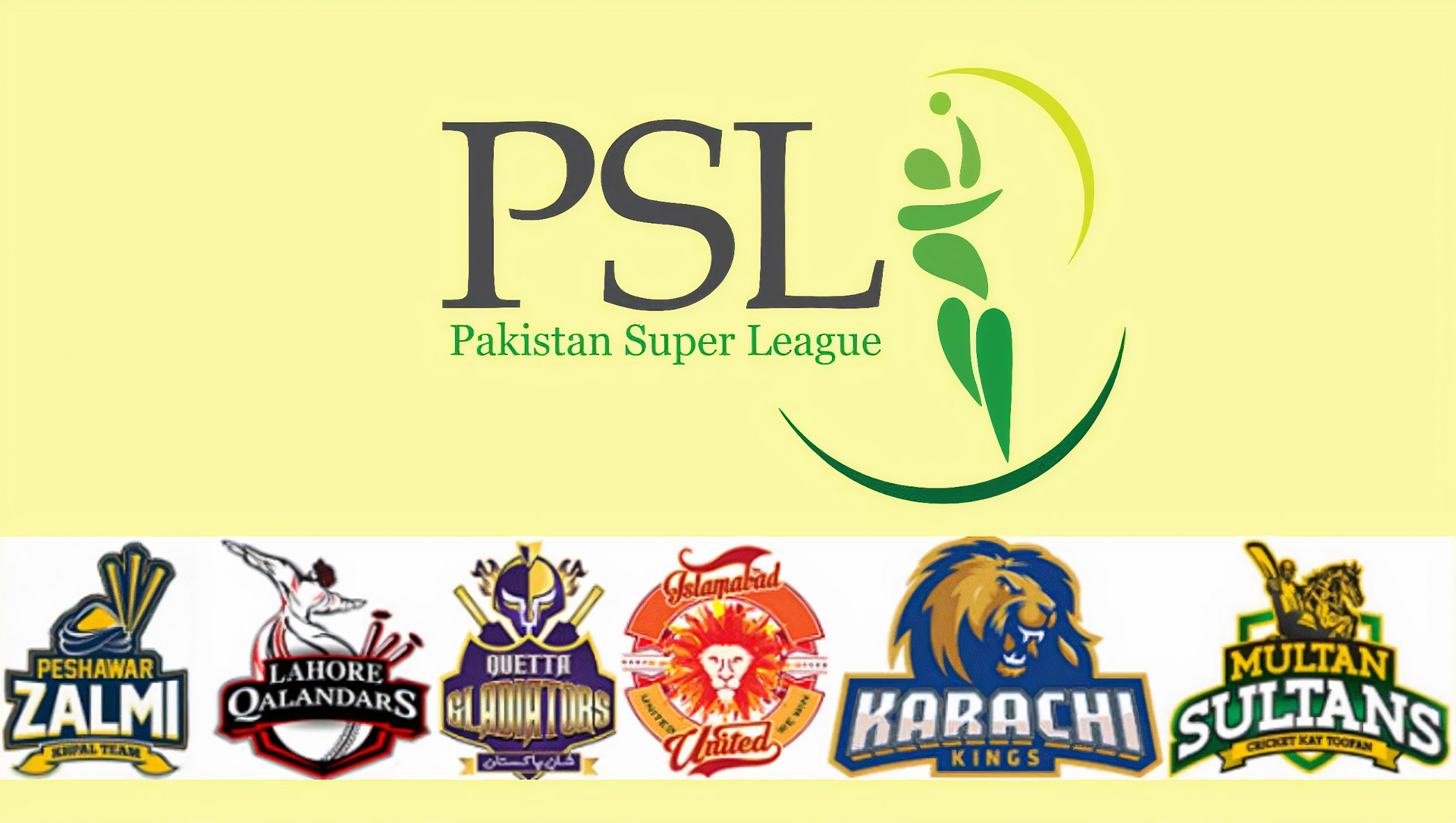 You can place bets on Pakistan Super League (PSL) after registering on the site