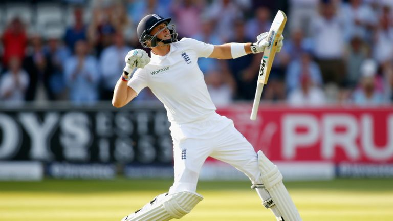 Why will England's Test captain Joe Root be absent from it for the third following year?