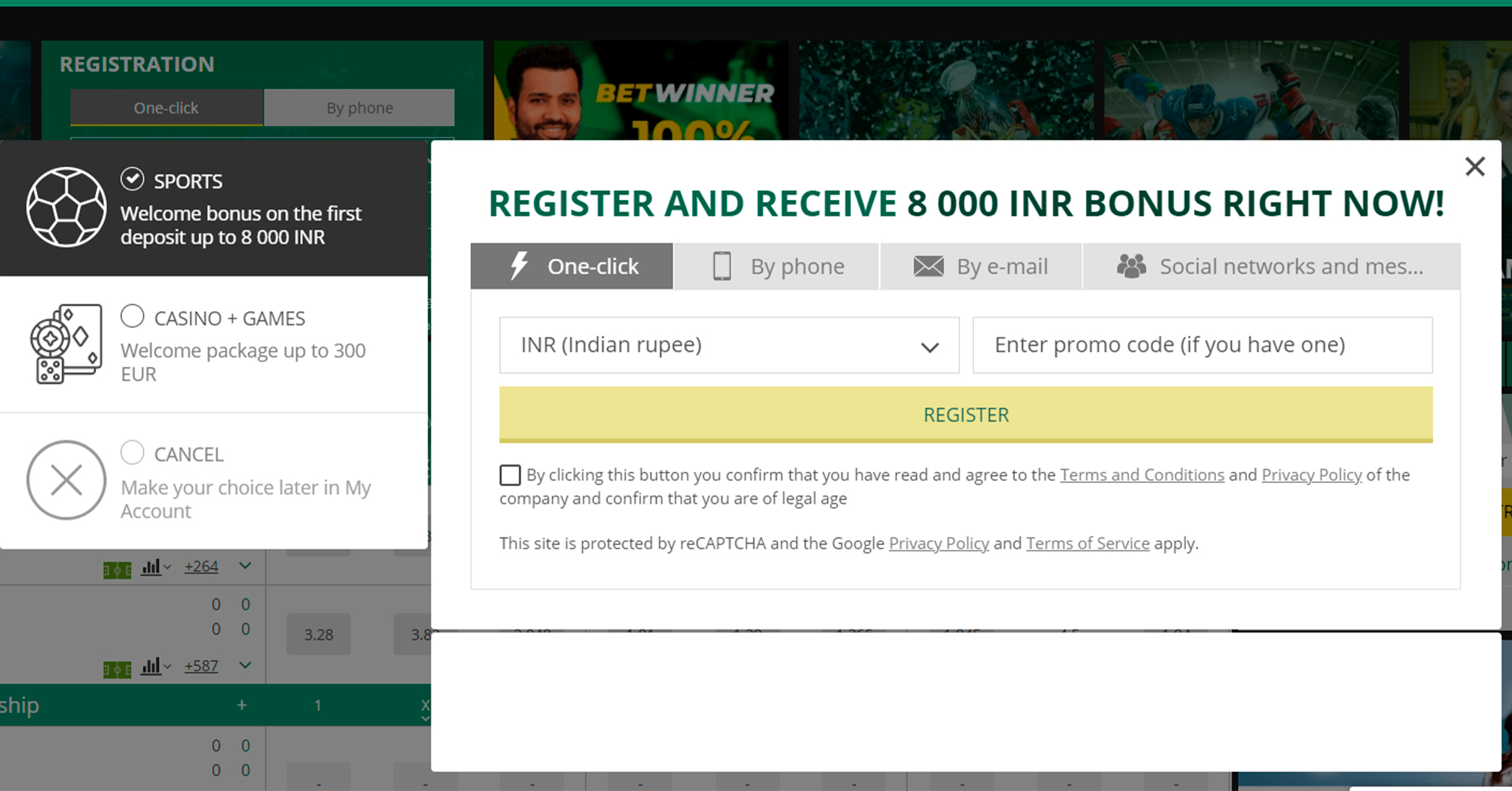 Only verified bettors will be able to withdraw winnings.
