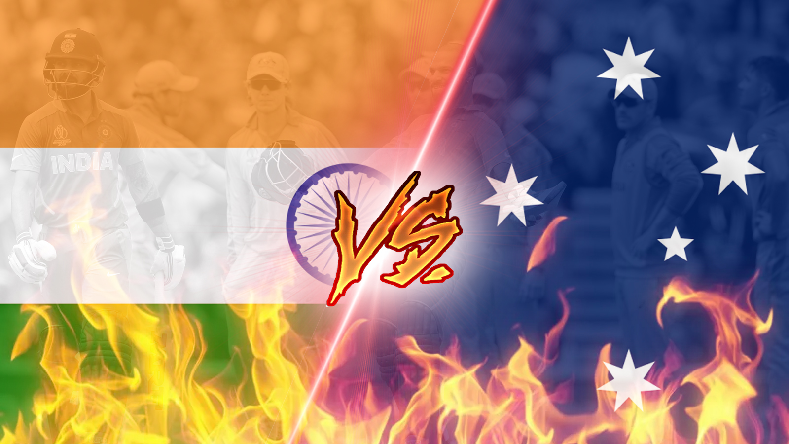Bet on your favorite Indian or Australian cricket team.