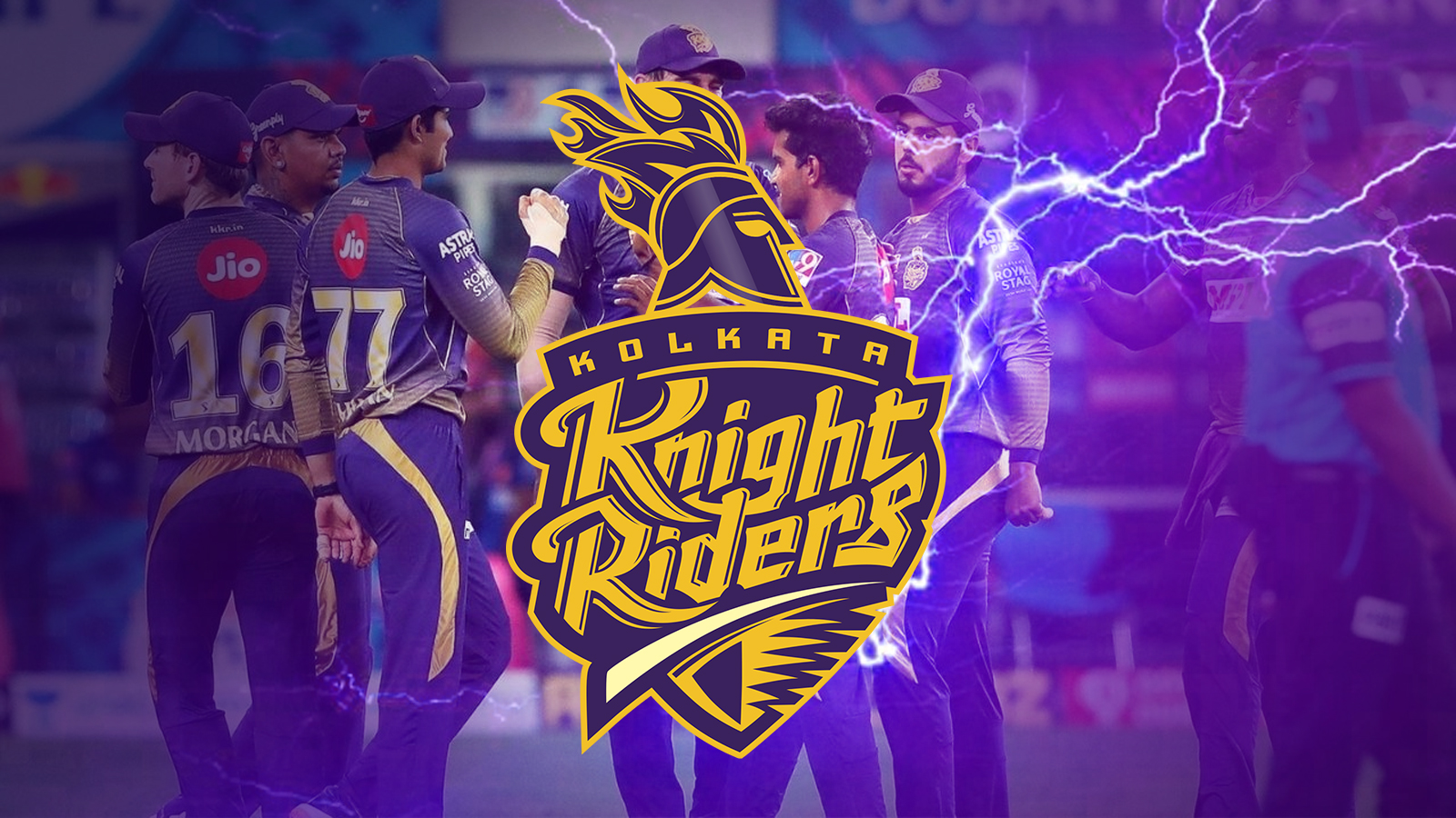 Join the IPL events and place bets on Kolkata Knight Riders.