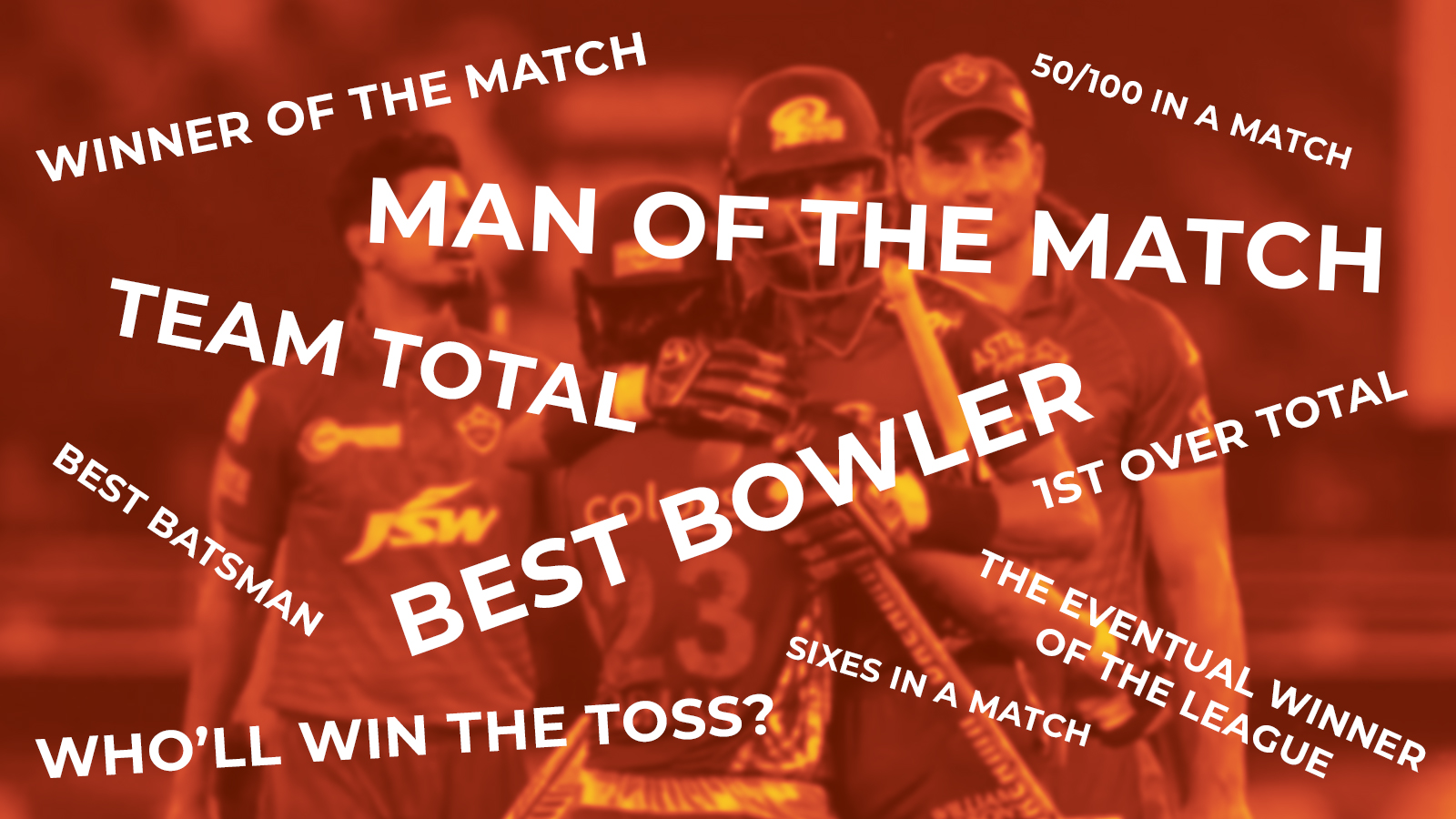 Choose the most convenient and profitable IPL market for you and place a bet on cricket.