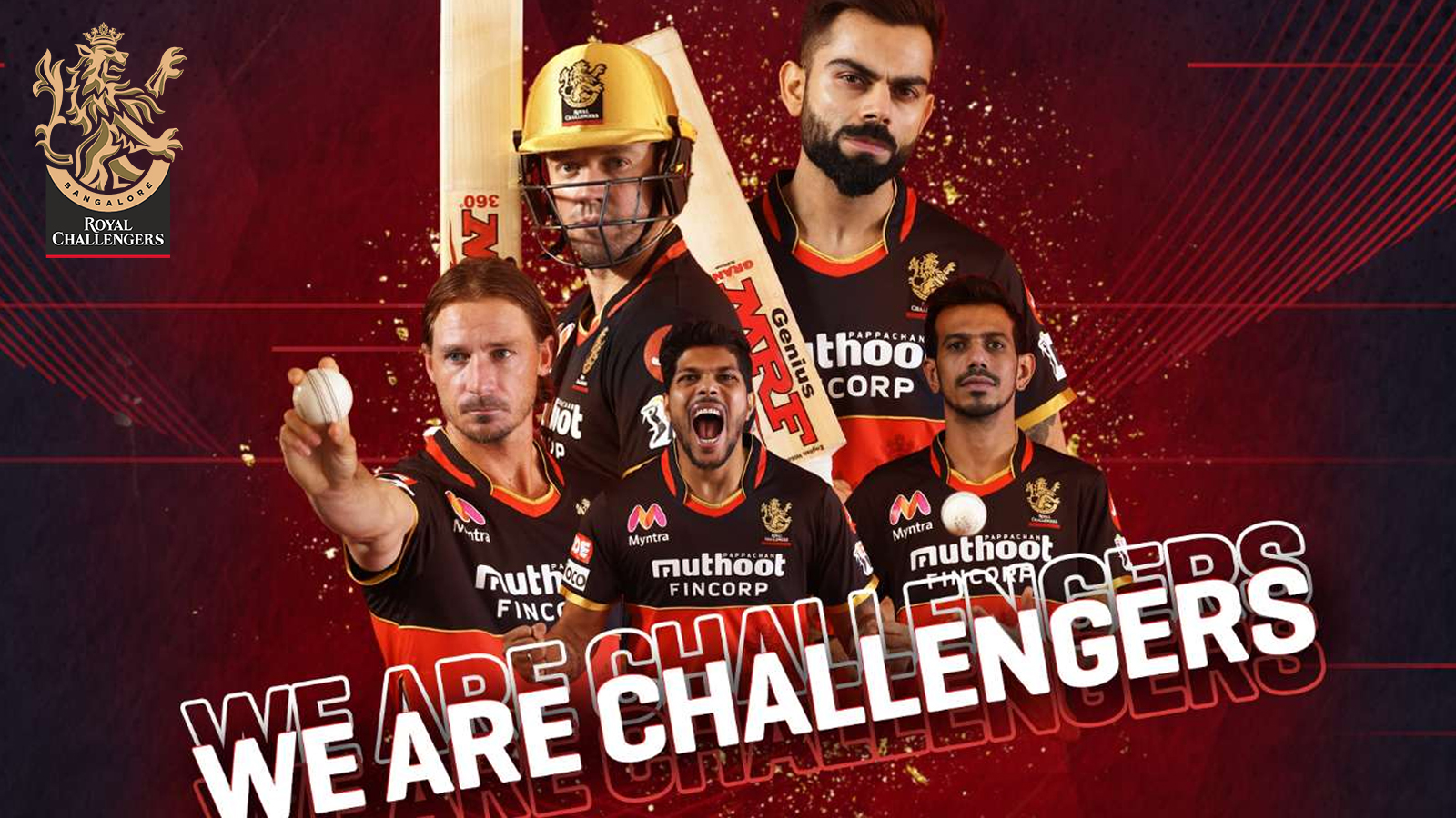 Place bets on Royal Challengers Bangalore team and try to win a lot during the IPL events.