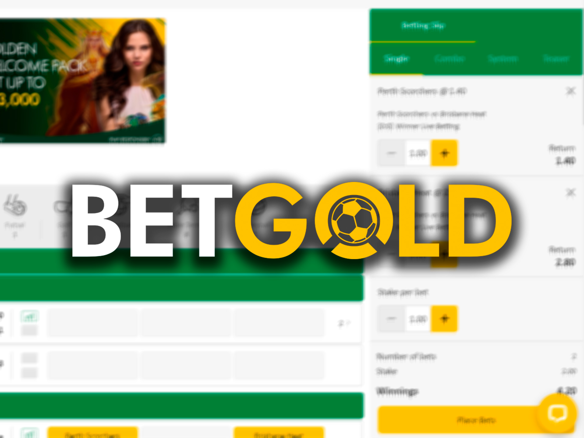 Betgold provides one of the biggest welcome bonuses to bet on IPL events.