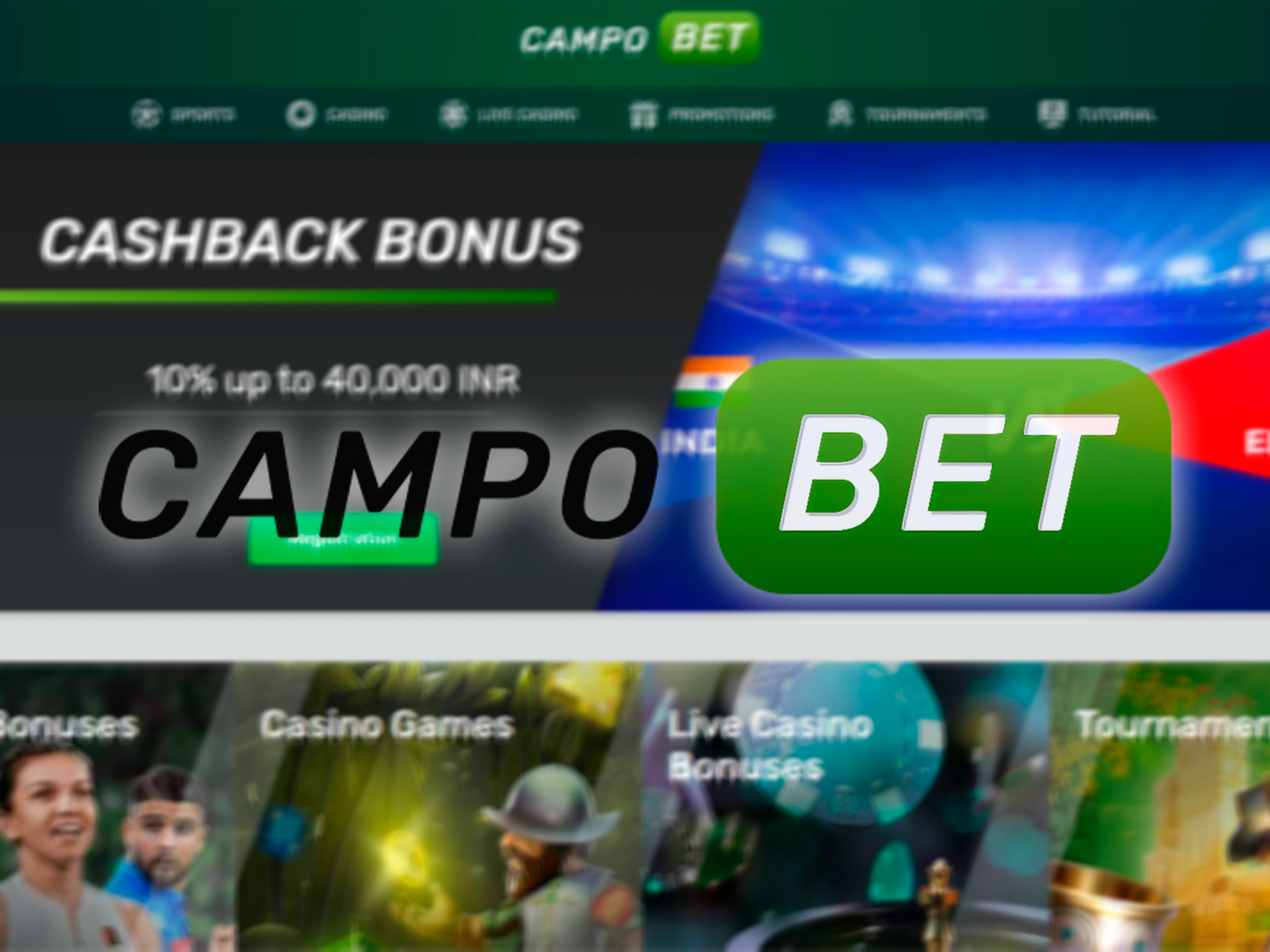 Campobet offers a large welcome bonus for newcomers to palce bets on IPL mathces.