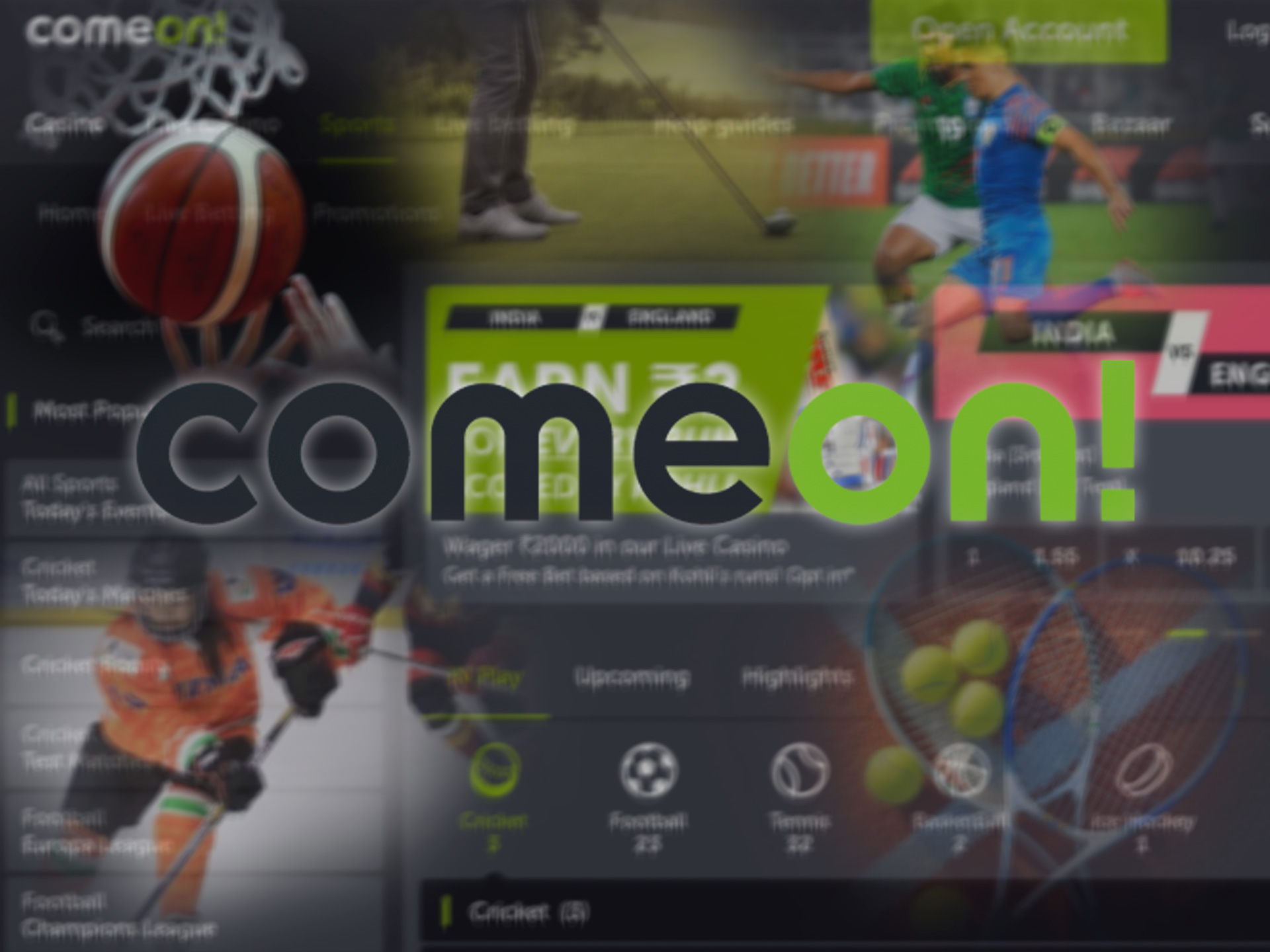 Learn more about cricket betting at Comeon from our review.
