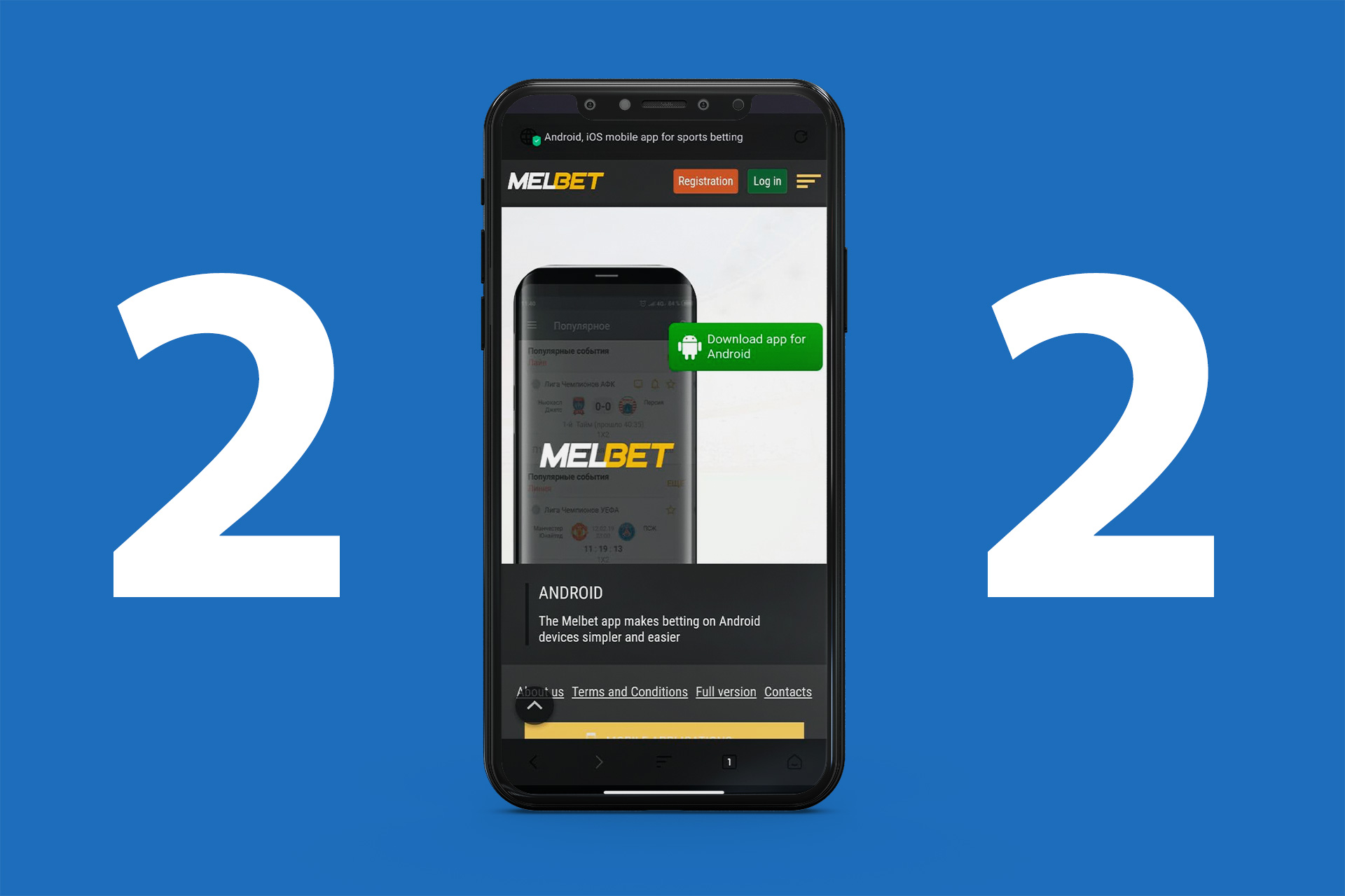 You can download apps from Google Play, App Store or straight from the official website.
