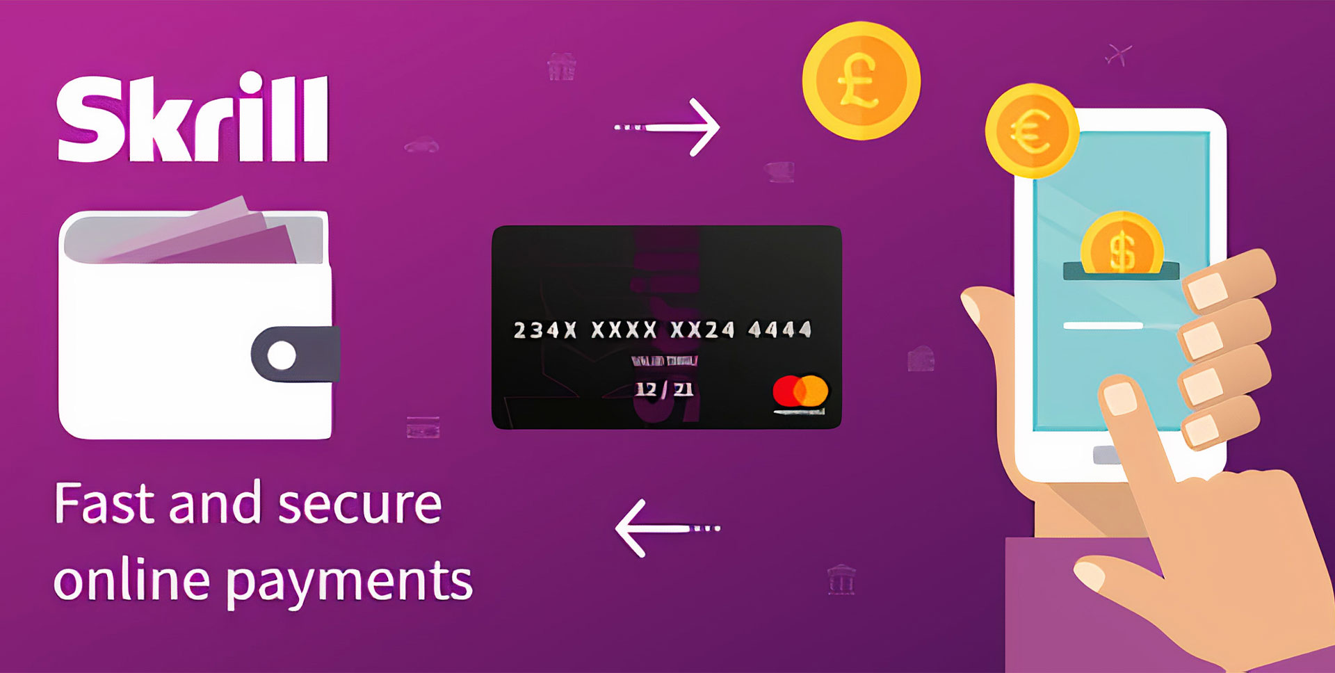 You can transfer money from other e-wallets or Indian banks and deposit via Skrill.
