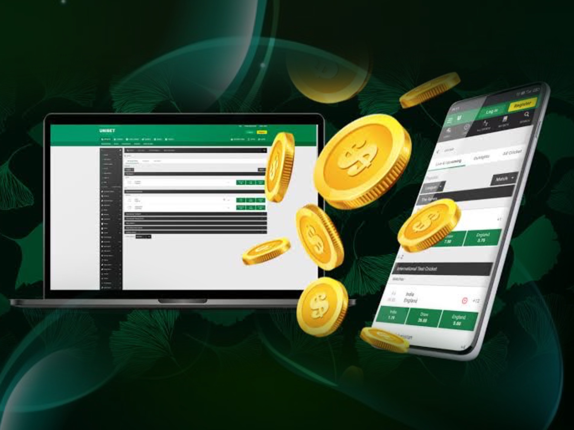 If you do not want to install any software, then Unibet mobile site is just for you.