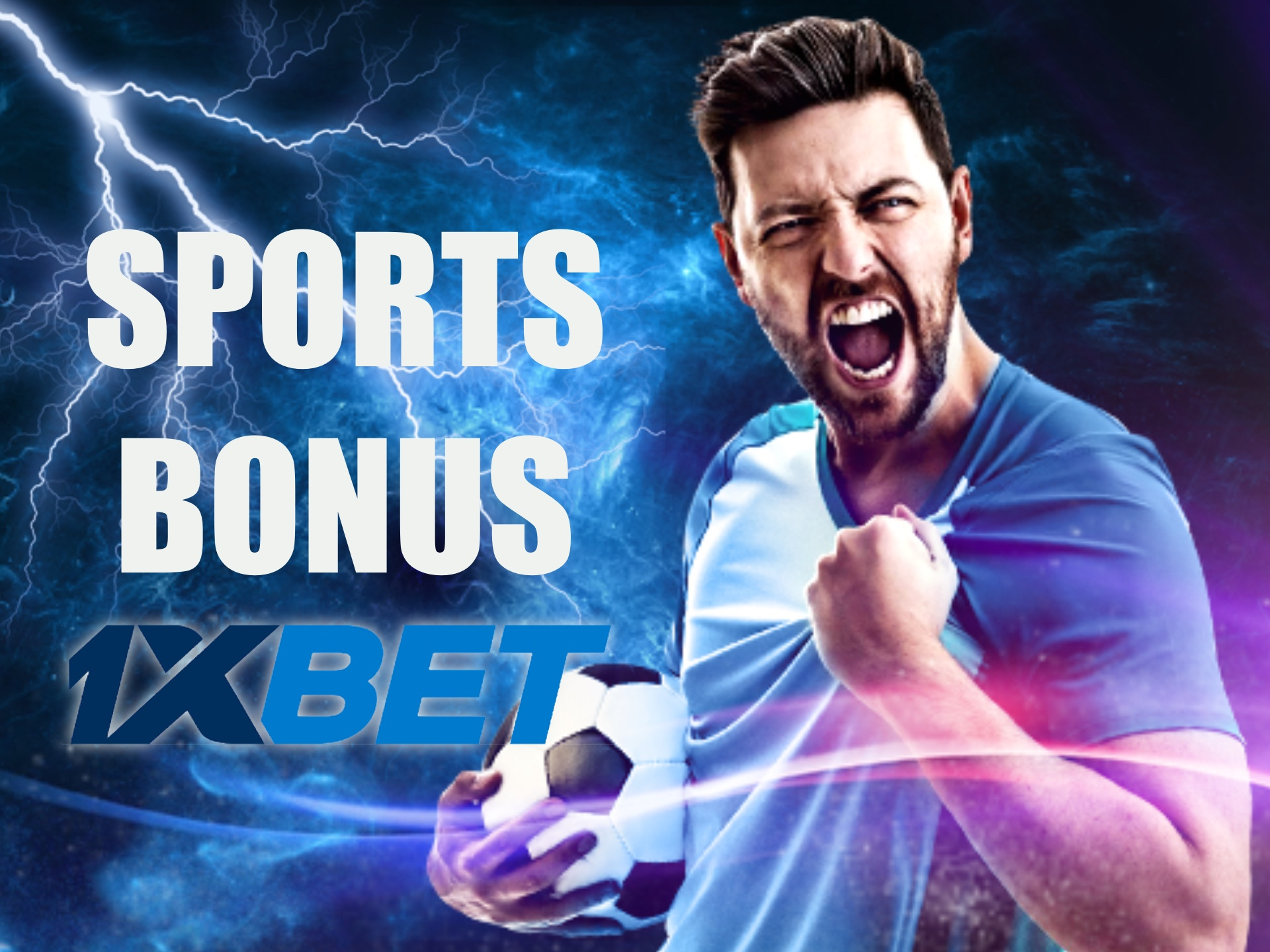 1xbet offers a great bonus on sport betting for new players.