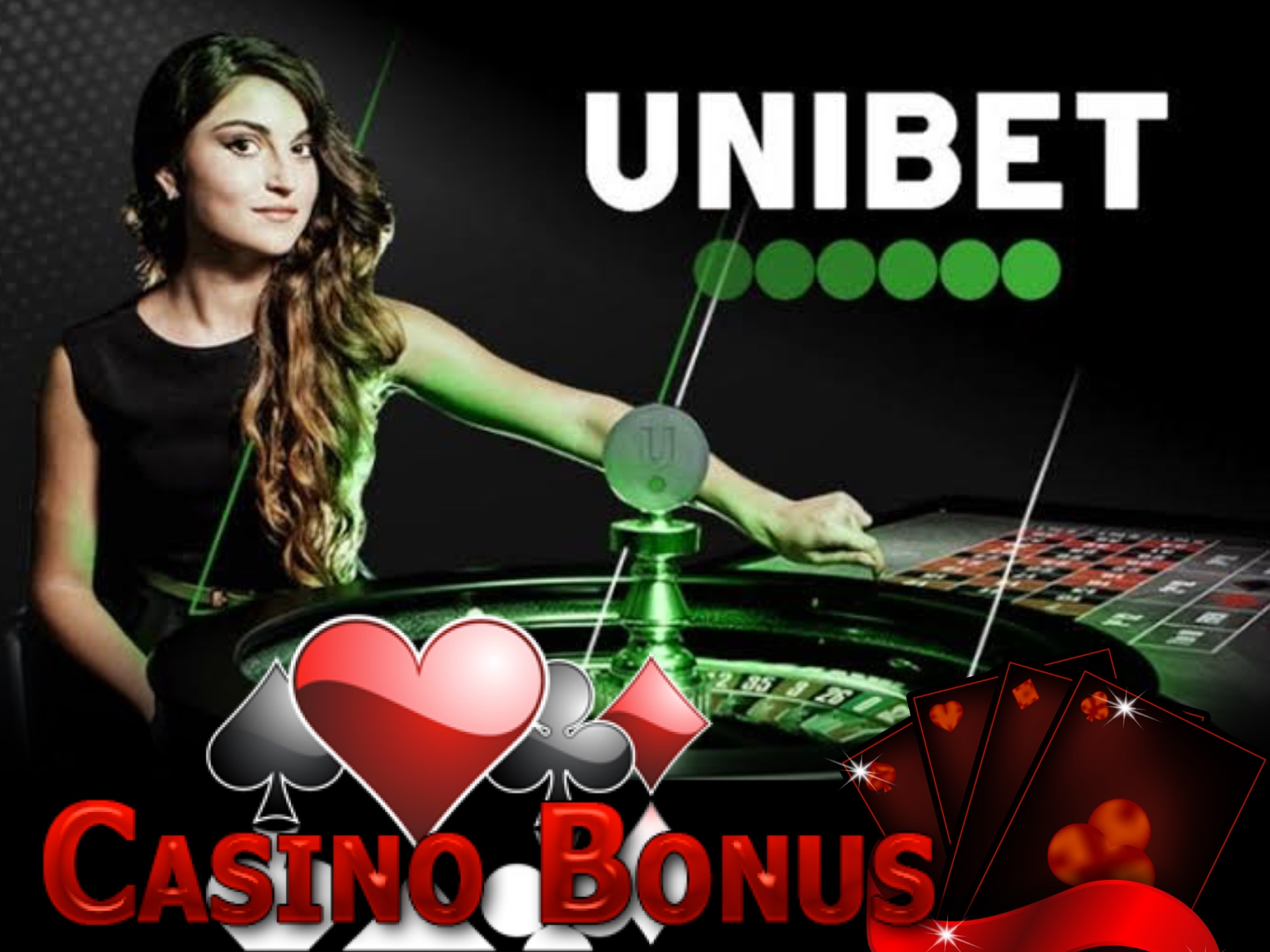 You can spend your Unibet welcome bonus on casino games.