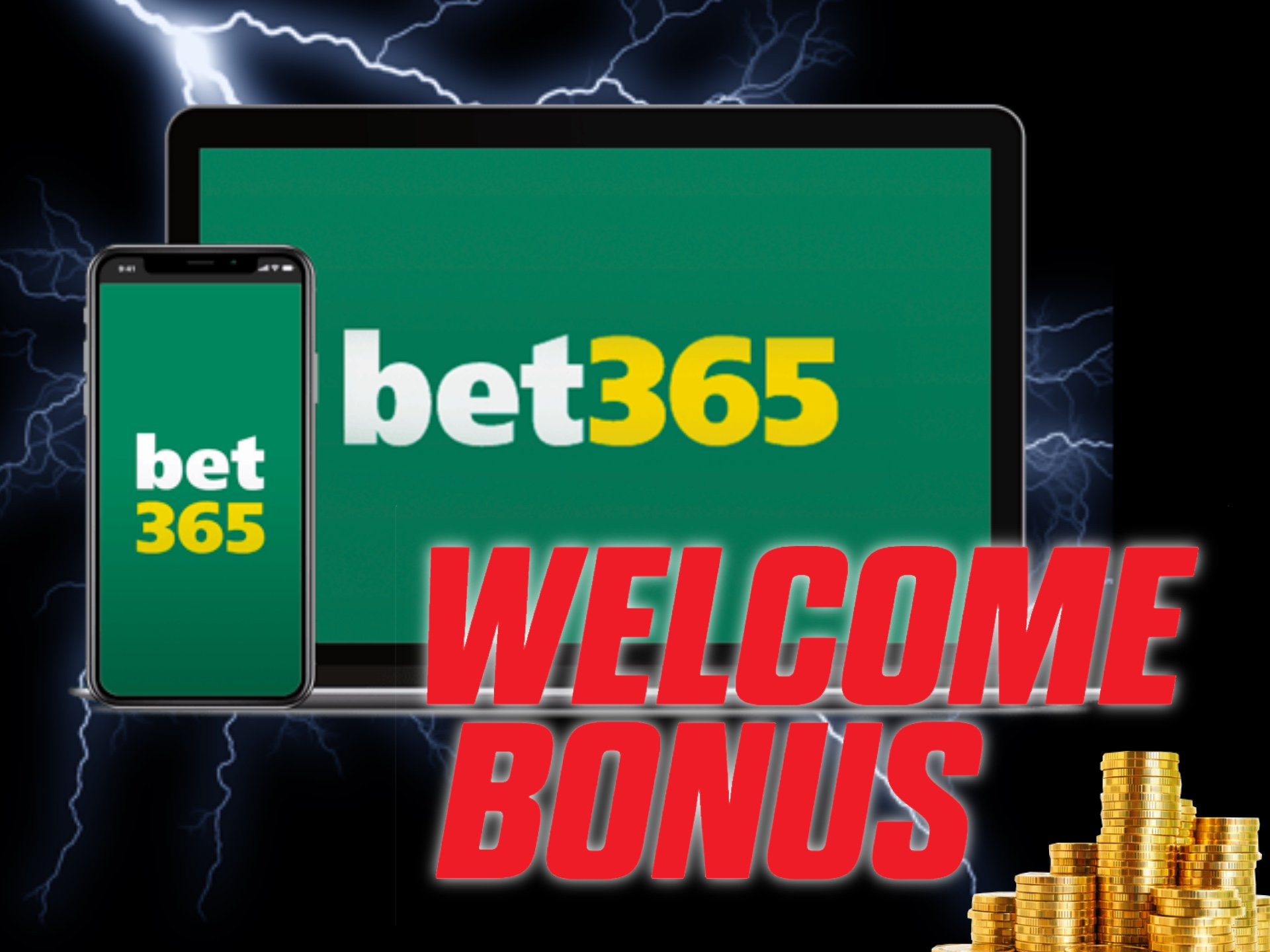 Make your first deposit at bet365 and get your welcome bonus on betting.