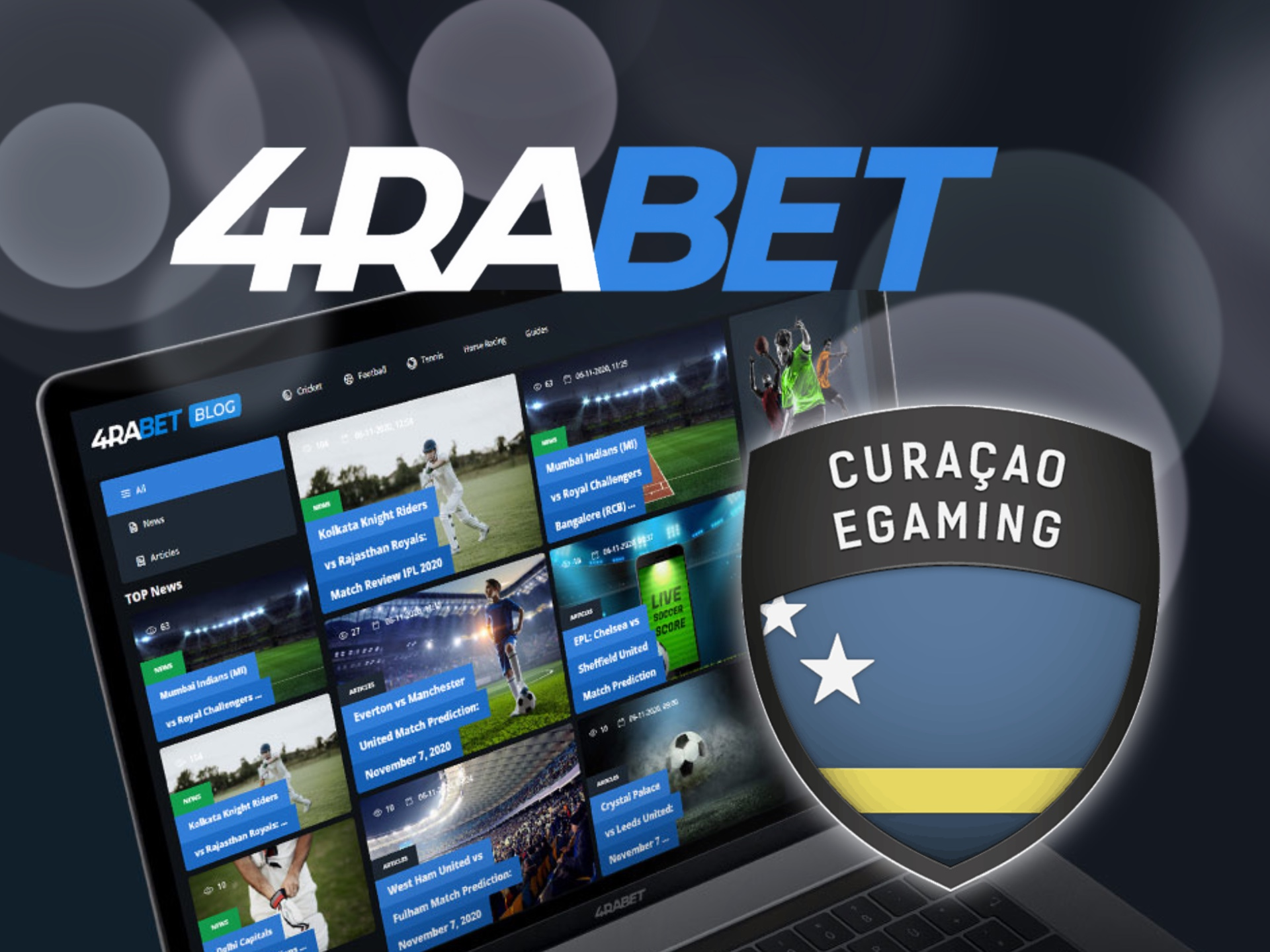 4rabet is properly licensed and is safe for betting.