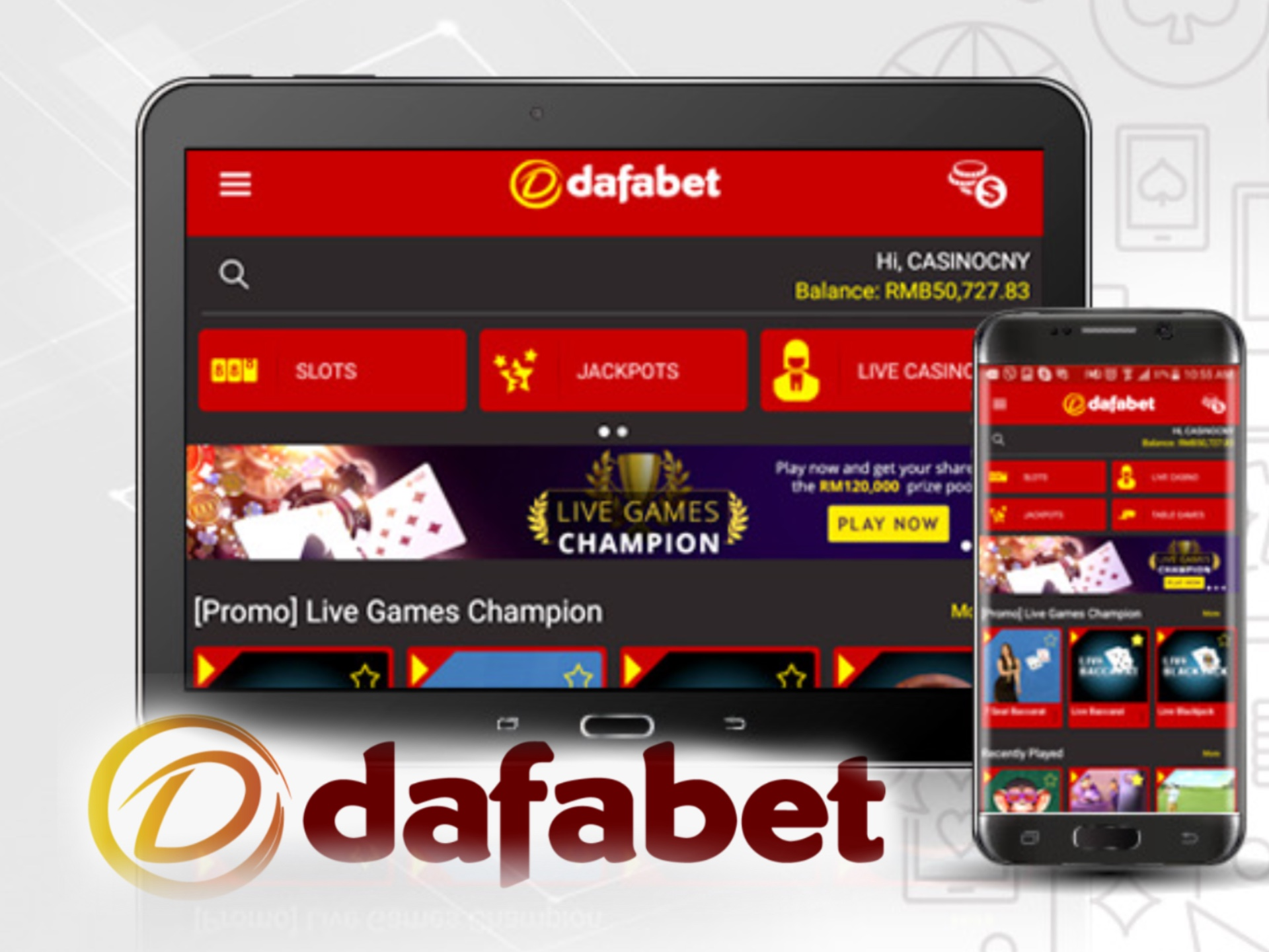 Dafabet app is the most convenient way to place bets and play casino games.
