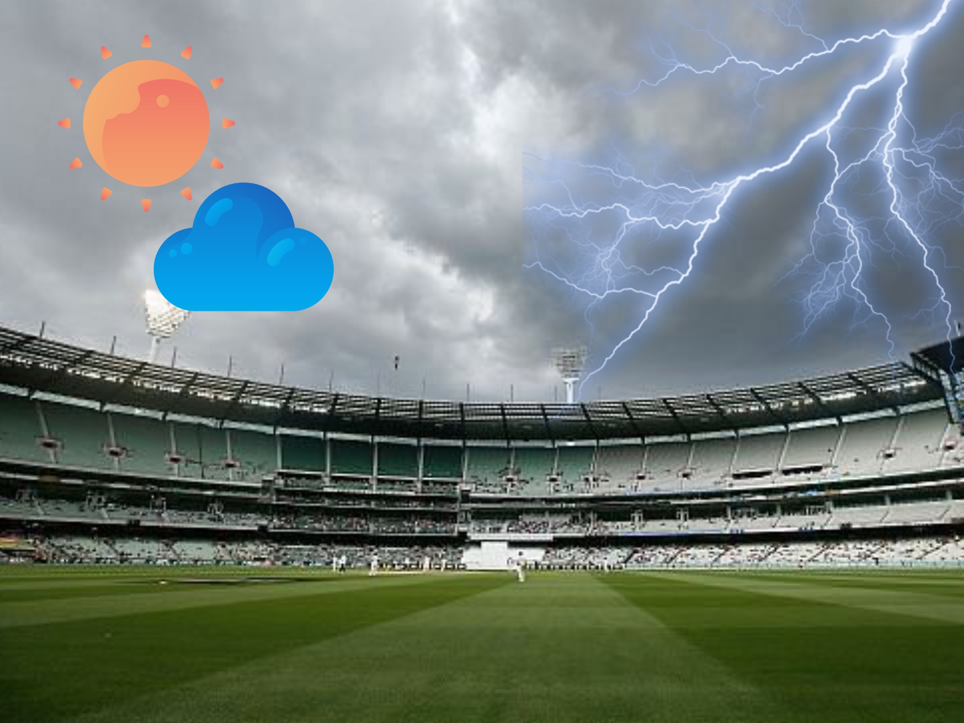 Remember, that weather changes can change a cricket game's results.