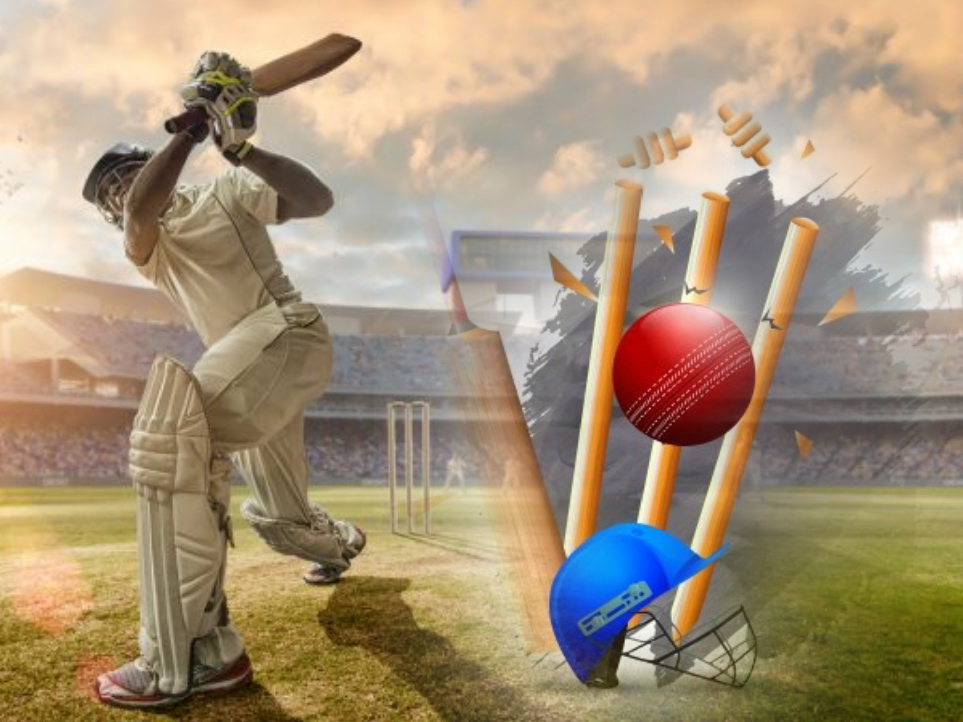 We advice you to conduct a research before starting cricket betting to learn more about this sport and place more profitable bets.