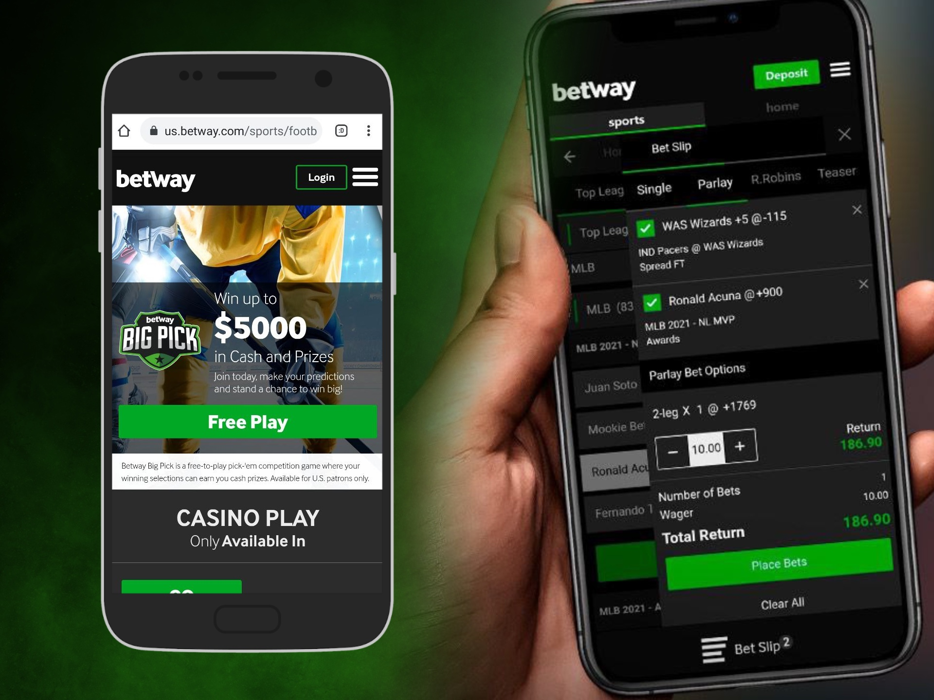 You'd better install the Betway app to have a quick access to cricket betting.