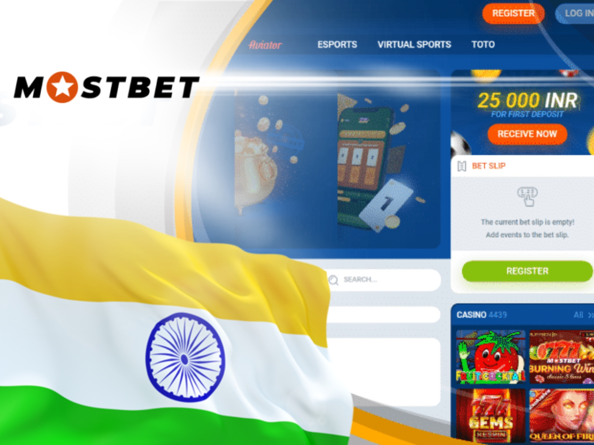 Mostbet is absoluteley legal for bettors from India.