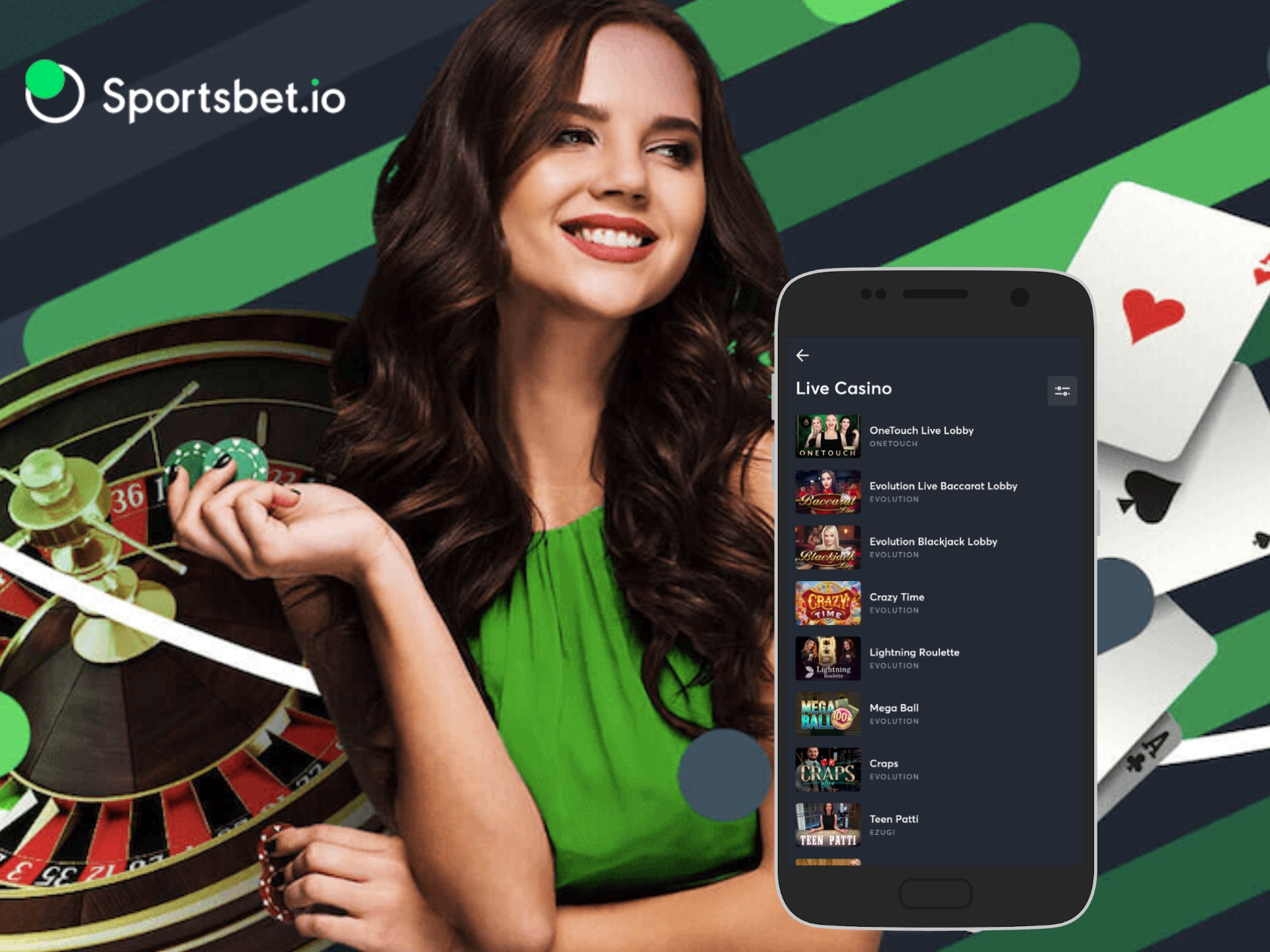 Try ro win a real dealer in live casino games.