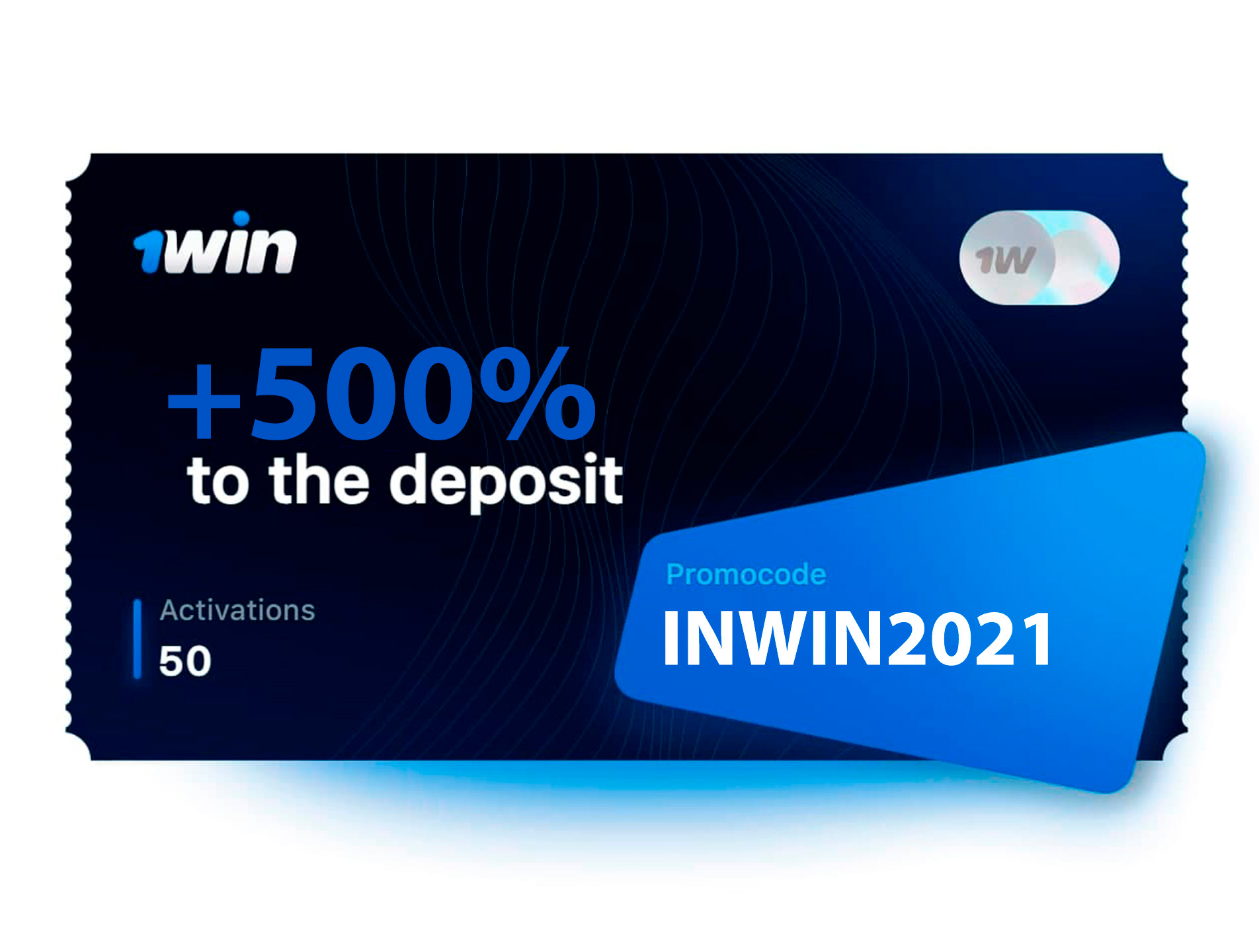 Use our promo code INWIN2021 for a bonus of INR 75,000.